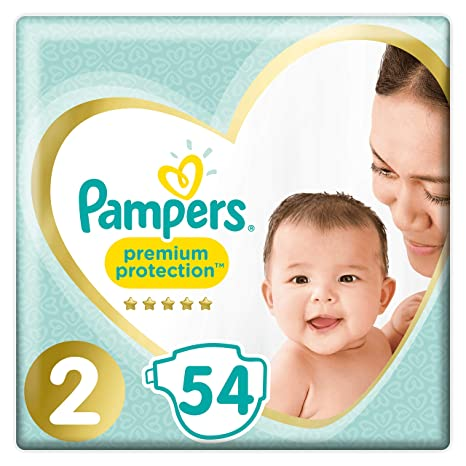 Pampers Premium Protection New Baby Pañales, talla 2 (3 - 6 kg), 1 ...