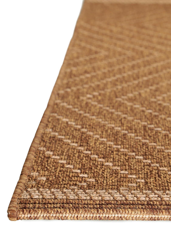 Benuta In- & Outdoor Teppich Naoto Braun 120x170 cm cm cm   Pflegeleichter Teppich geeignet für Innen- und Außenbreich, Balkon und Terrasse B00K3FB7FY Teppiche 6b5972
