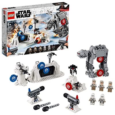 LEGO Star Wars: The Empire Strikes Back Action Battle Echo Base Defense 75241 Building Kit (504 Pieces): Toys & Games
