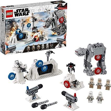 Amazon Com Lego Star Wars The Empire Strikes Back Action Battle Echo Base Defense 75241 Building Kit 504 Pieces Toys Games