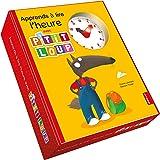 P'tit Loup - Apprends a lire l'heure ! - Coffret livre + horloge