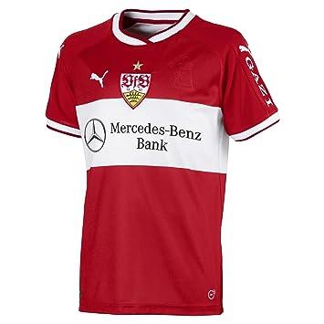Puma VfB Stuttgart Away Réplica Camiseta Jr W. Sponsor Camiseta, Infantil, 924550, Ribbon Red-Puma White, 176: Amazon.es: Deportes y aire libre
