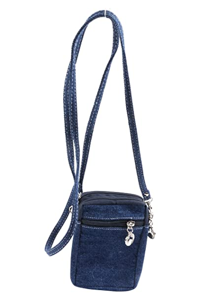Jeans Material Side Sling Bag With Long Adjustable Strap  Amazon.in ... 95ed5381c1995