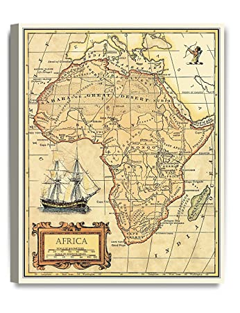 DECORARTS- Africa map Wall Art. Ancient Map Giclee Print Canvas Art on geographical map of africa, current map of africa, blank map of africa, map of the founding of rome, map of africa with countries, climate map of africa, map of medieval africa, map of identity, map of contemporary africa, big map of africa, map of north america, map of cush, map of italian africa, map of norway africa, map of mesopotamia, map of china, map of middle east, map of east africa, map of earth africa, map of historical africa,