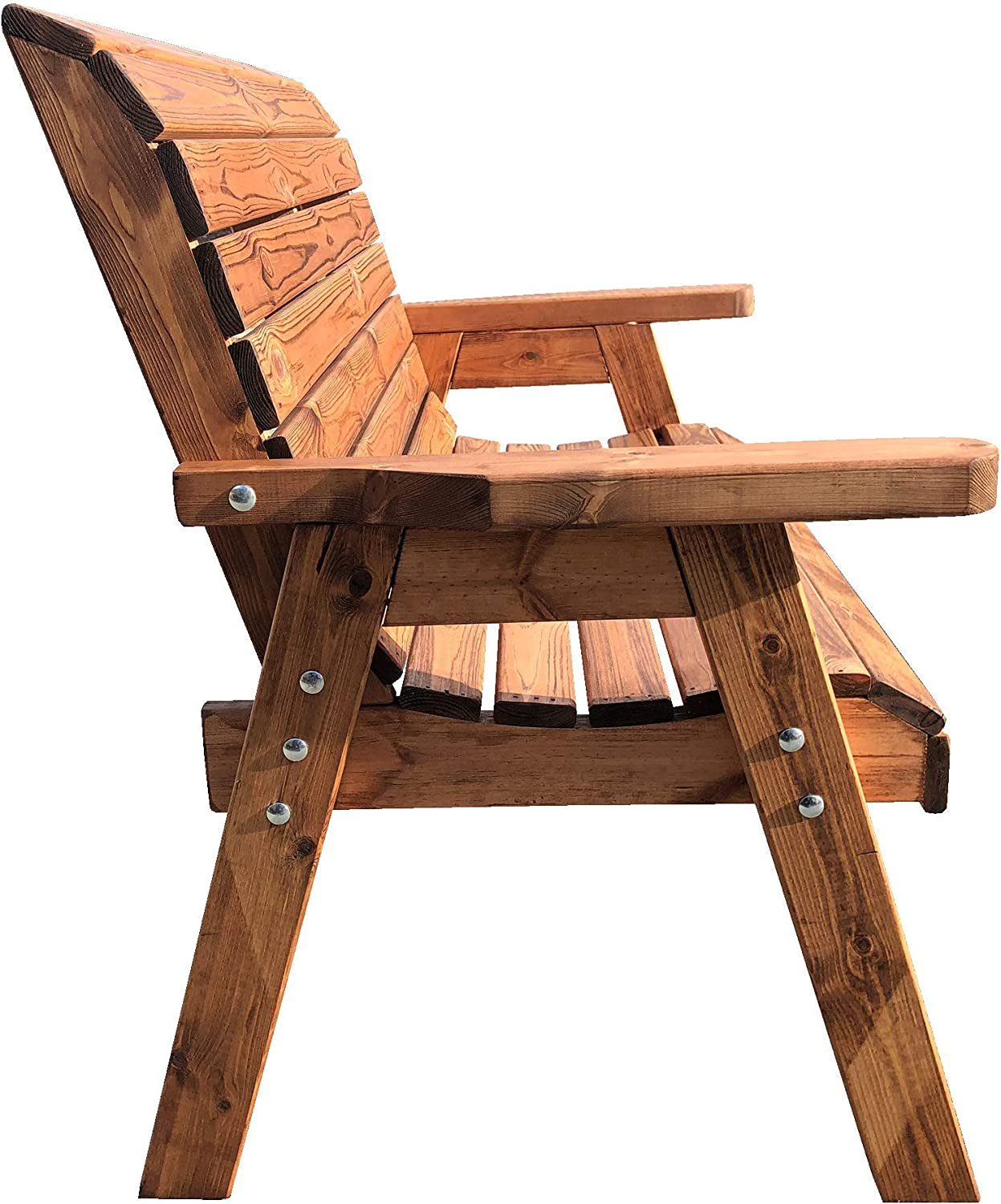 Super Saturday Simply Wood Imperial Wooden Garden Bench ...
