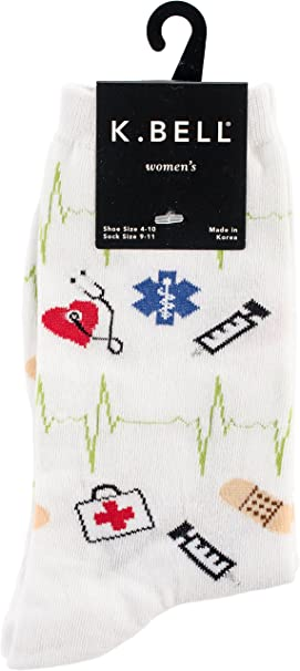 Women's Novelty Casual Crew Socks