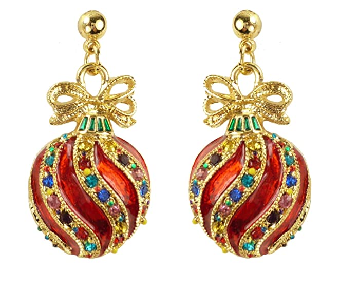 Fancy Ornament Earrings
