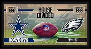 Dallas Cowboys vs. Philadelphia Eagles Framed 10