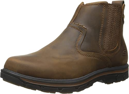 skechers mens boots with zipper