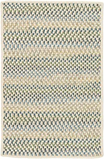 product image for Chapman Wool Rugs, 2' x 12', Peacock Blue Natural