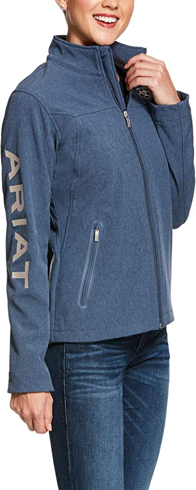 Ariat Kids New Team Softshell Jacket Navy Blue