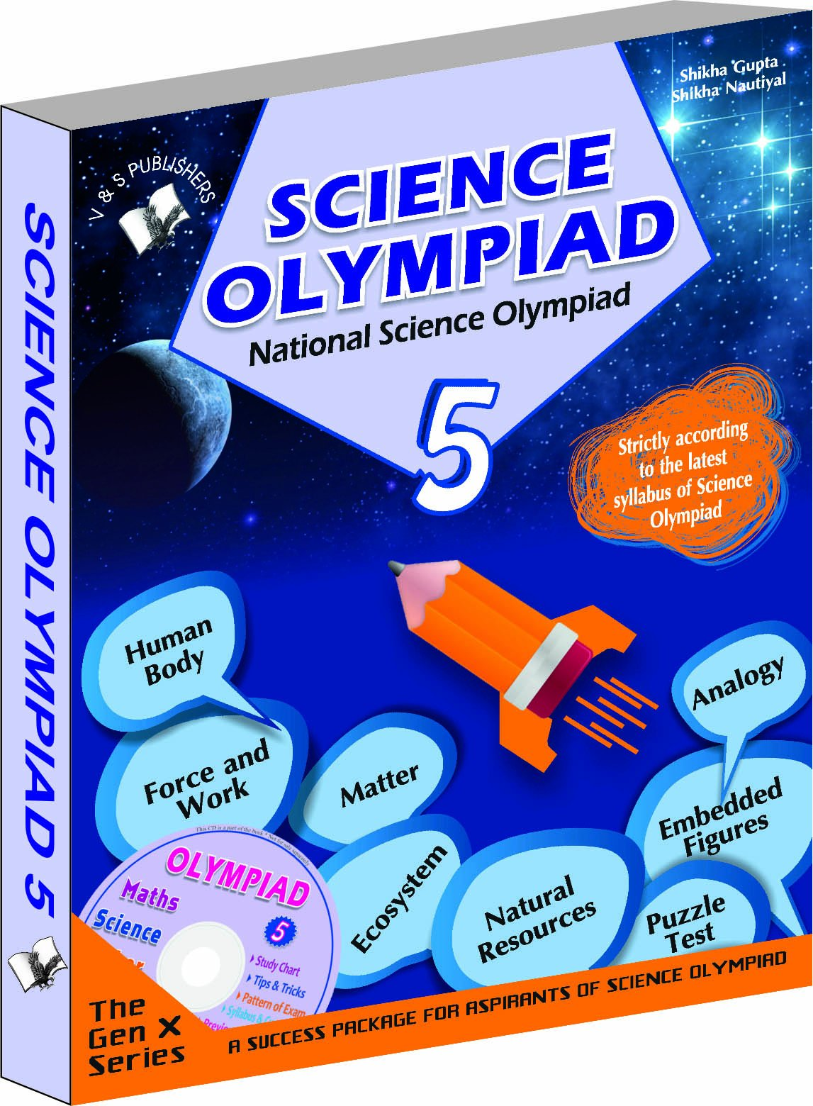 Buy National Science Olympiad - Class 5 with CD: Theories with ...