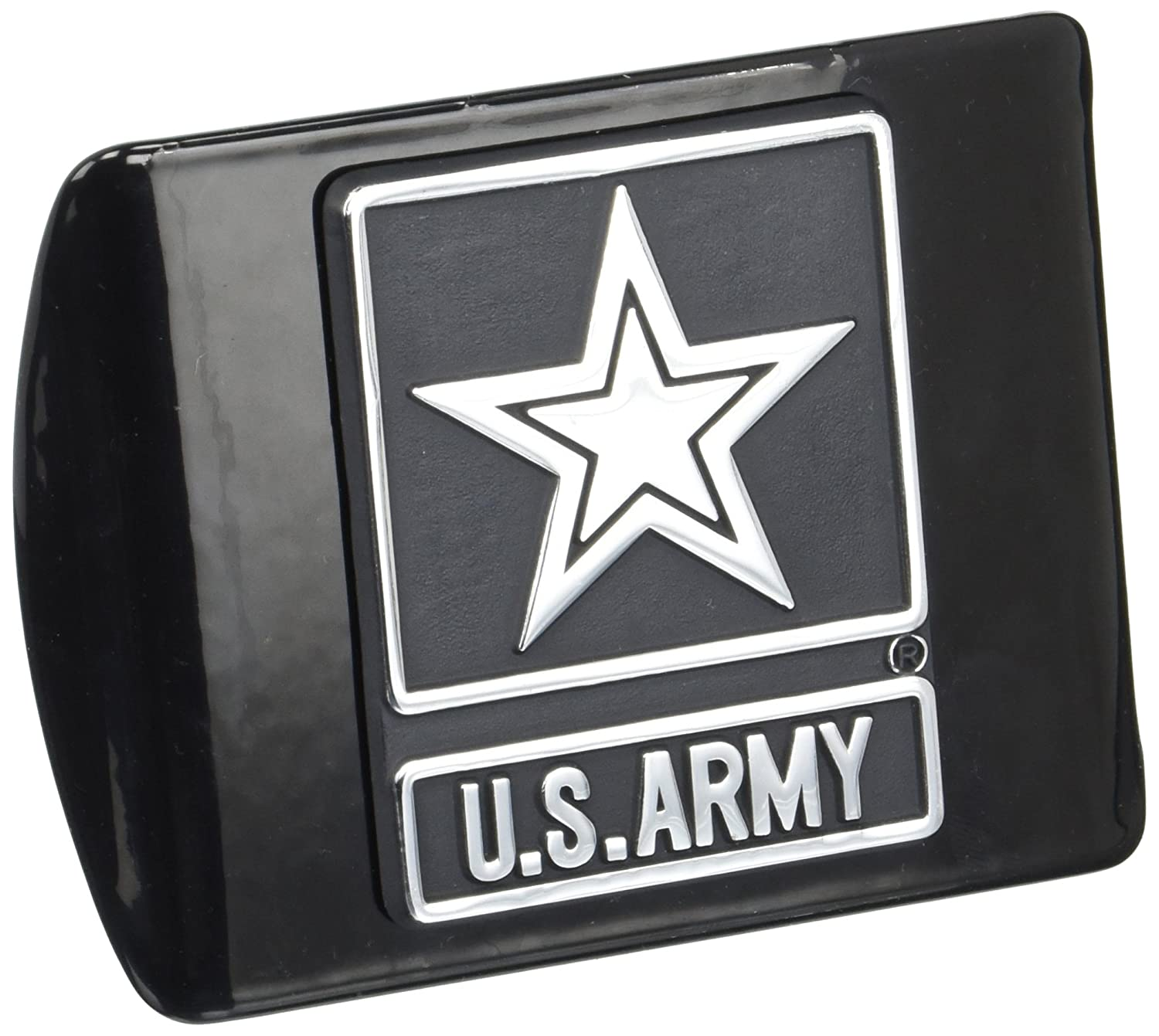 2 Custom Hitch Covers 12509-Chrome Texas Hitch Cover