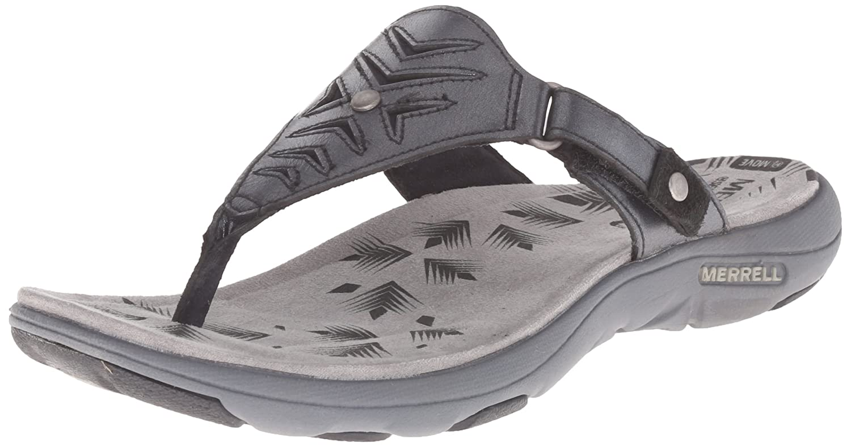 Black merrell sandals - Black Merrell Sandals 28