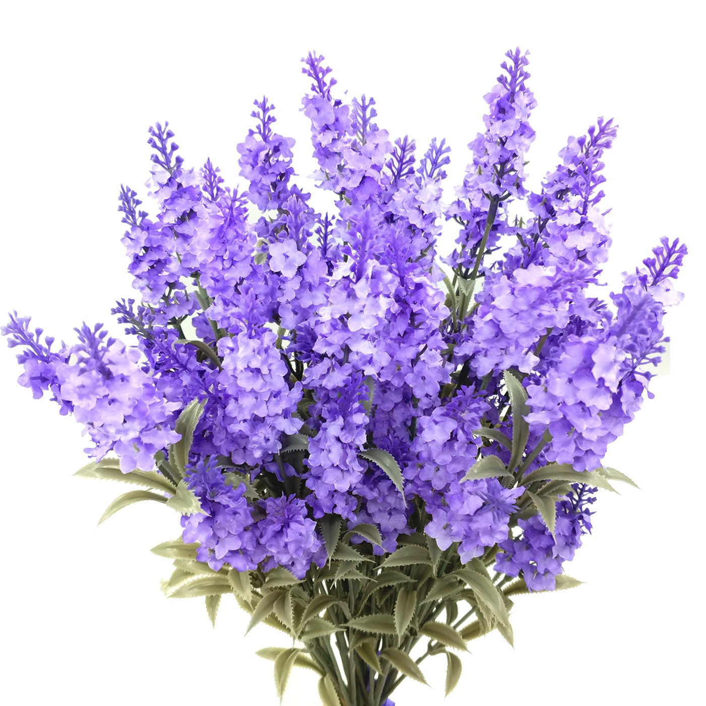 Guagb-Artificial-Lavender-Silk-Flowers-Plastic-Fake-Plant-Make-a-Bountiful-Flower-Arrangement-Decor-Your-Outdoor-Indoor-House-6-Pieces