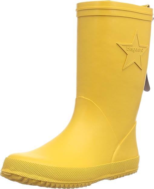 TALLA 35 EU Estrecho. Bisgaard Rain Boot Star, Botas de Lluvia Unisex bebé