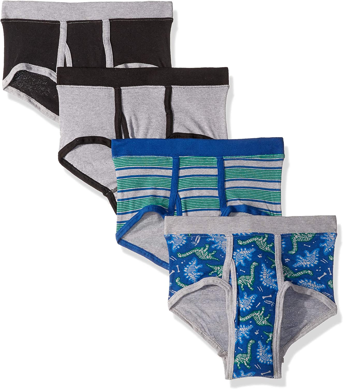 Teal Hanes Boys 5 Pack Ultimate Comfortsoft Crew Small