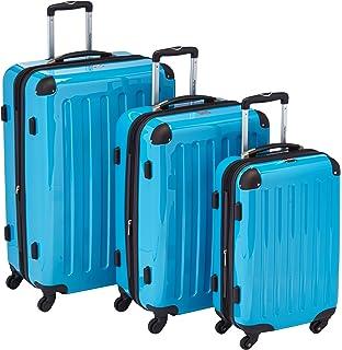 ea97d1c2929ff HAUPTSTADTKOFFER - Alex - 3er Koffer-Set Trolley-Set Rollkoffer Reisekoffer  Erweiterbar