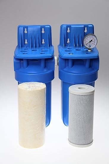 Fuente transparente filtro de hierro y Manganeso filtro para pozo ...