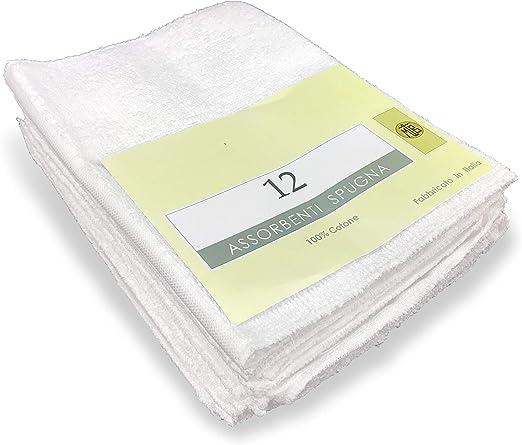 Juego 12 compresas pañal antialérgicas para mujer de rizo de ...