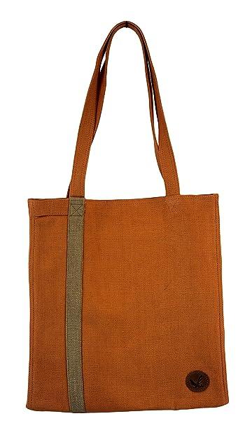 d8a01277f6 Amazon.com  Ladies Casual Jute-Cotton Tote Bag with Shoulder Handle ...