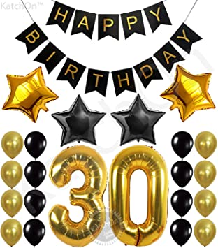 amazon 30th birthday party decorations kit happy birthday banner