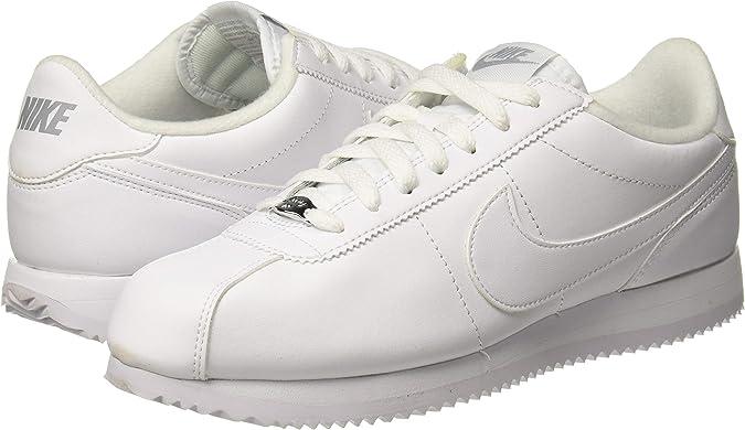 Nike Cortez – Zapatillas de piel básicas para hombre, color, talla 45.5 EU: NIKE: Amazon.es: Zapatos y complementos