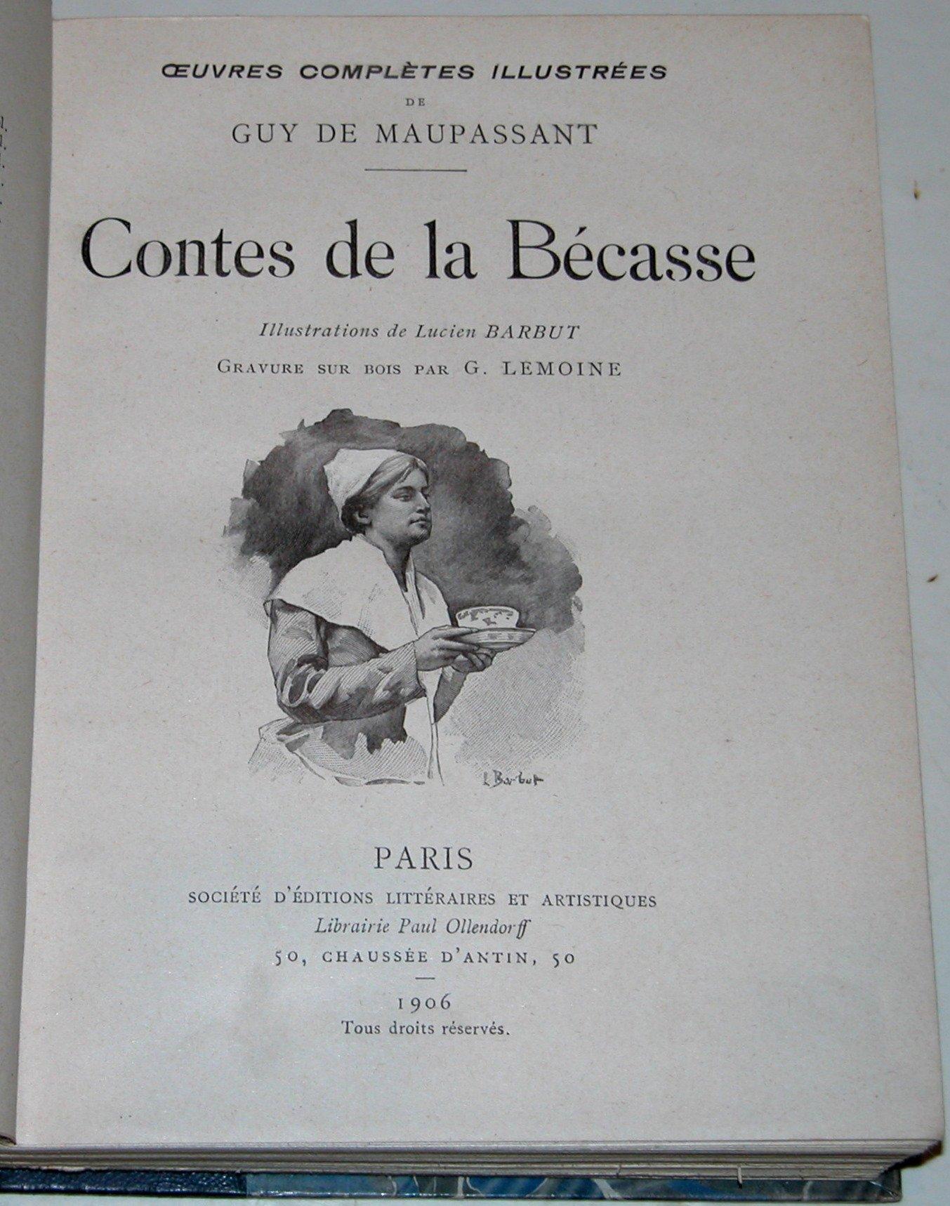 b0c7ec8f882 Amazon.fr - Oeuvres complètes illustrées de Guy de Maupassant - Complètes  des 30 vols - Guy de Maupassant