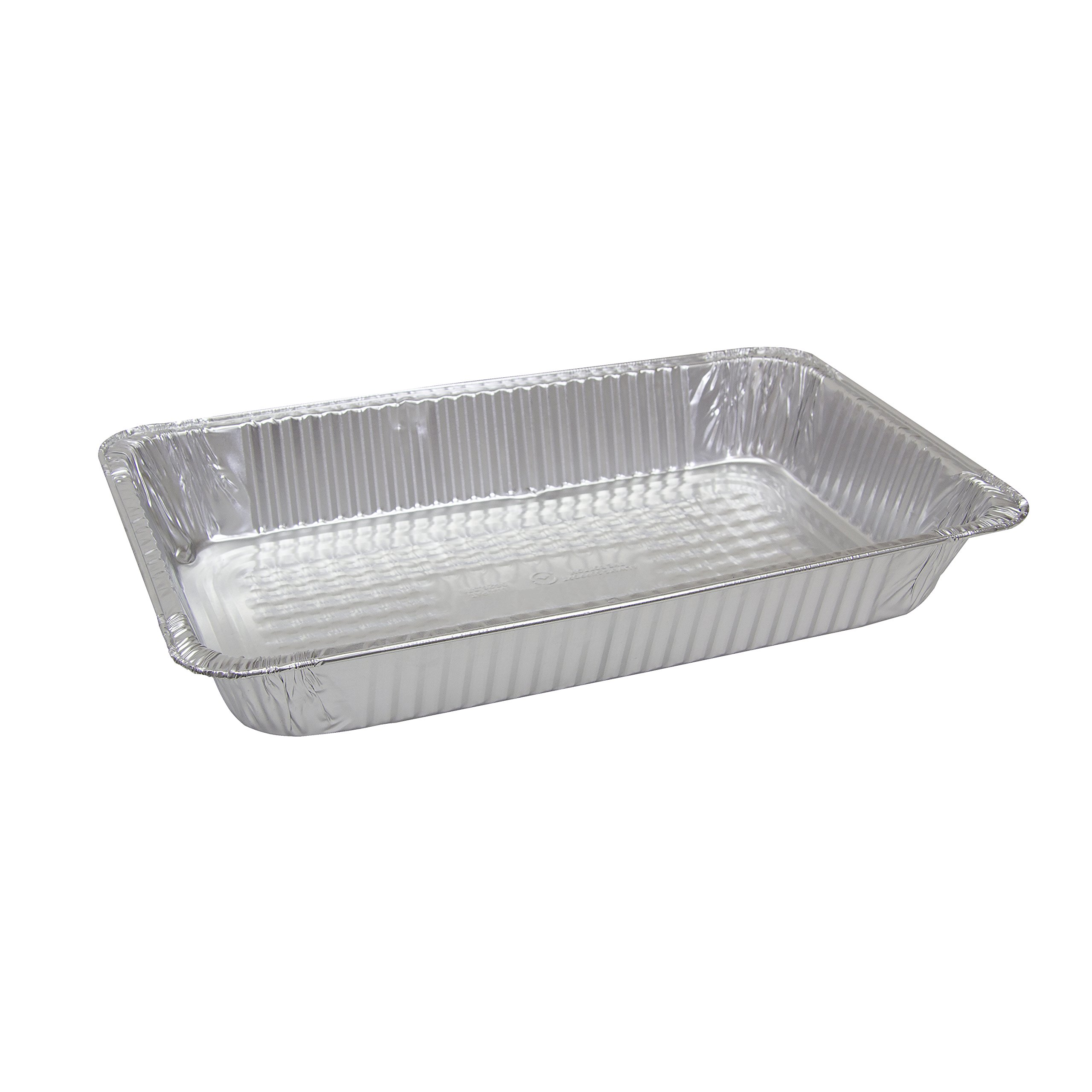 Empress E0458 Full Size Deep Foil Steam-Table Pan, 3-3/16'' x 12-13/16'' x 20-3/4'', 12.88'' Height, 13.1'' Width, 21.38'' Length (Pack of 50)