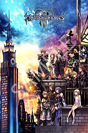 Best Print Store   Kingdom Hearts Iii (3) Poster (24x36 Inches) by Amazon