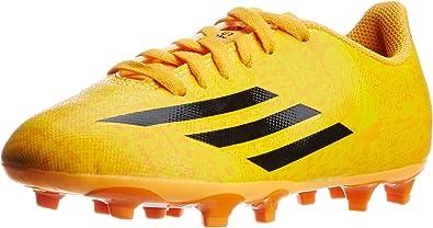 Perenne Cien años estornudar  Adidas Leo Messi F5 FG niños Botas zapatos de fútbol de leva  amarillo/naranja, Tamaño:EU/36.5 - UK/4 - US/4.5 - CM/22.5: Amazon.es:  Zapatos y complementos