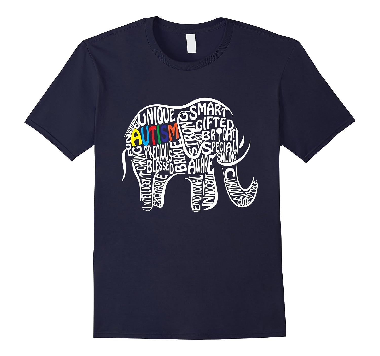 Autism Awareness Elephant T Shirt-BN