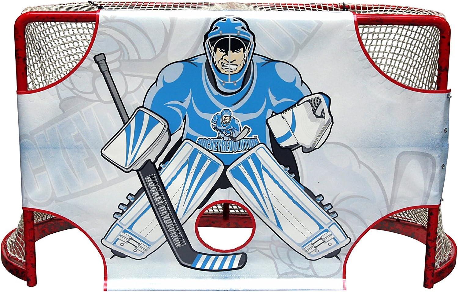 (MY GOALIE TARGET) - Hockey Revolution Goal Targets Sharp Shooting Training Aid