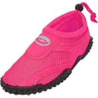 Cambridge Select Kids' Slip-On Mesh Quick Dry Drawstring Non-Slip Water Shoe (Toddler/Little Kid/Big Kid)
