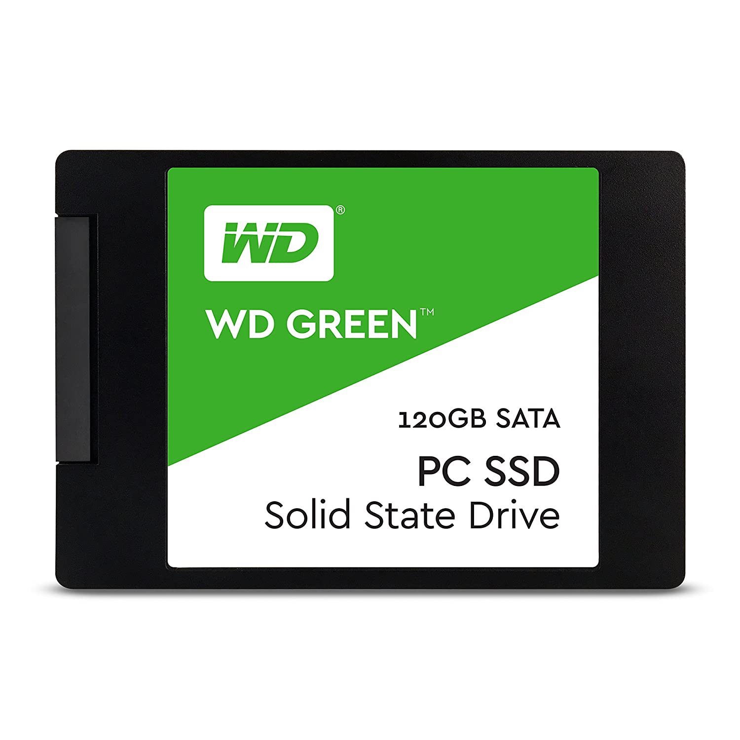 WD Green PC SSD - Disco duro sólido de 120 GB (Serial ATA III, SLC, 2.5