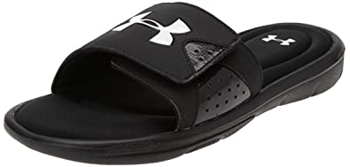 26bbce9cd Amazon.com | Under Armour Men's Ignite IV Slide | Sport Sandals & Slides