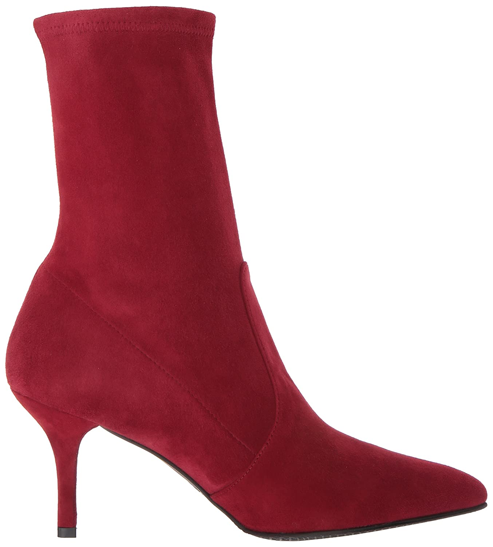 Stuart Weitzman 9 Women's Cling Ankle Boot B071HLFZR9 9 Weitzman B(M) US|Scarlet Suede dcf666