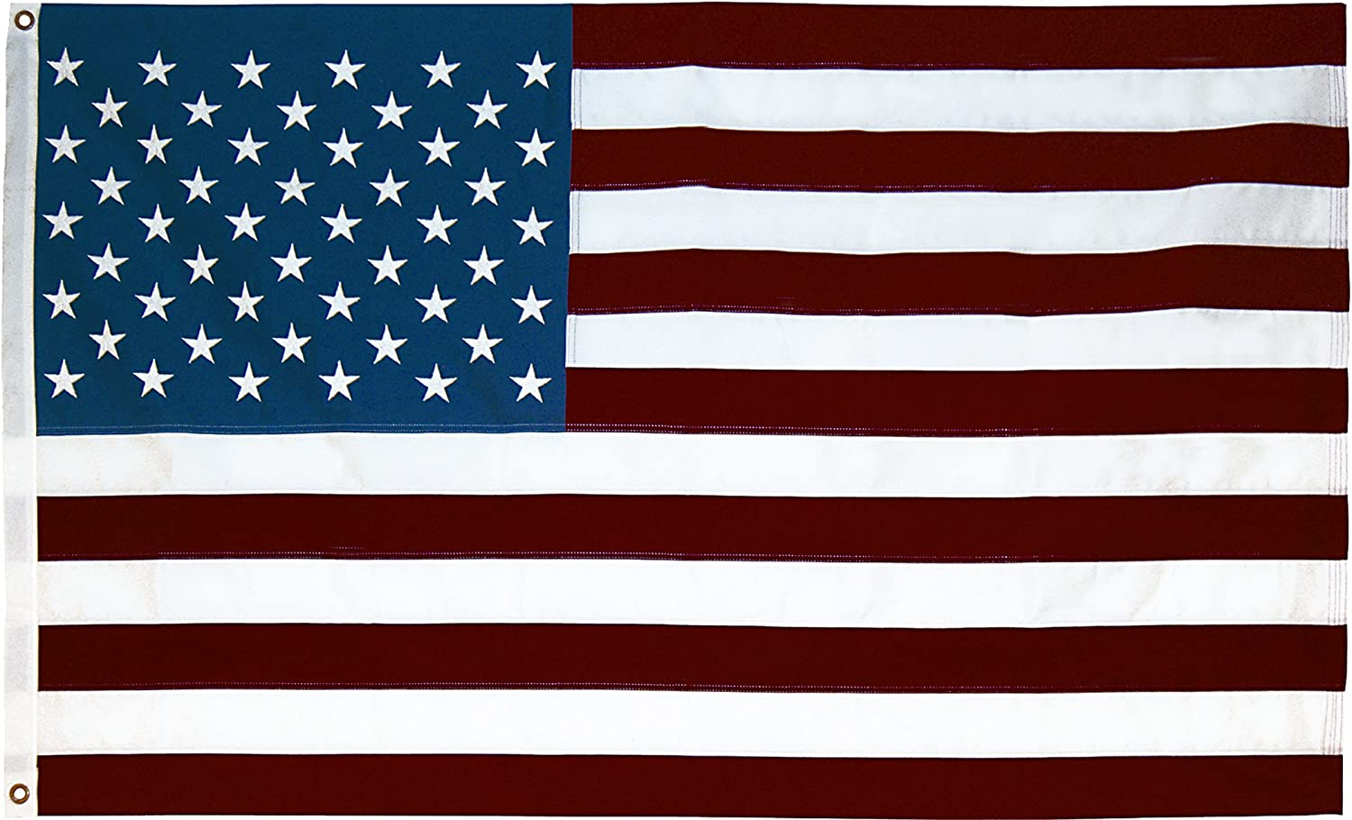 100 % MADE IN THE USA SEASONAL DESIGNS American American US Polycotton Replacement Flag