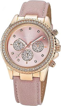 Crystal Blue de Mujer Reloj de Pulsera Mujer Reloj Mujer Relojes ...