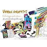 URBAN GRAFFITI coloriages cartes postales