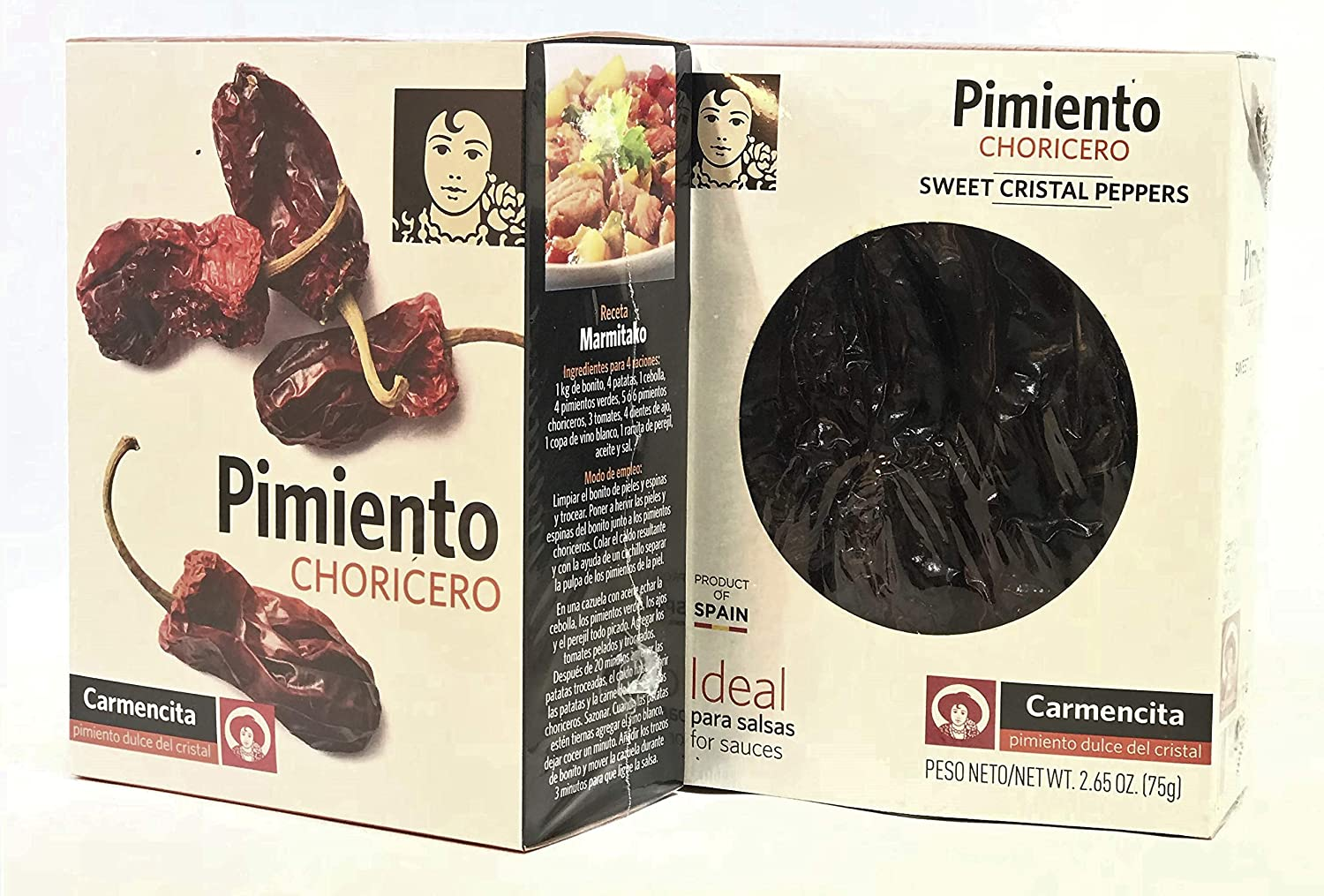 Pimientos Choriceros by Carmencita 2.65 oz. Pack of 2: Amazon.com: Grocery & Gourmet Food