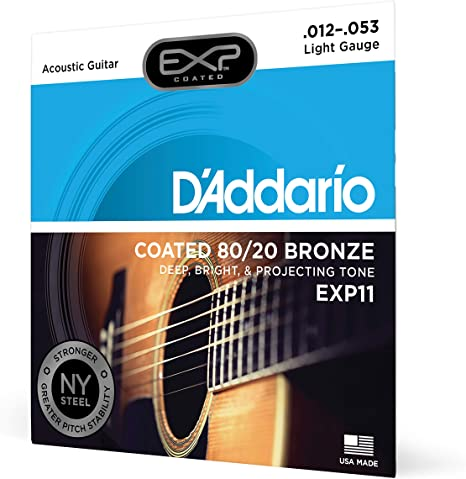 D'Addario EXP11 with NY Steel Strings