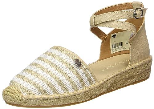 ESPRIT Ines Sandal, Alpargatas para Mujer, Beige (260 Light Taupe), 40 EU: Amazon.es: Zapatos y complementos