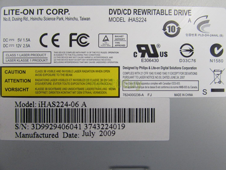 Driver UPDATE: Lite-On iHAS224 B ODD