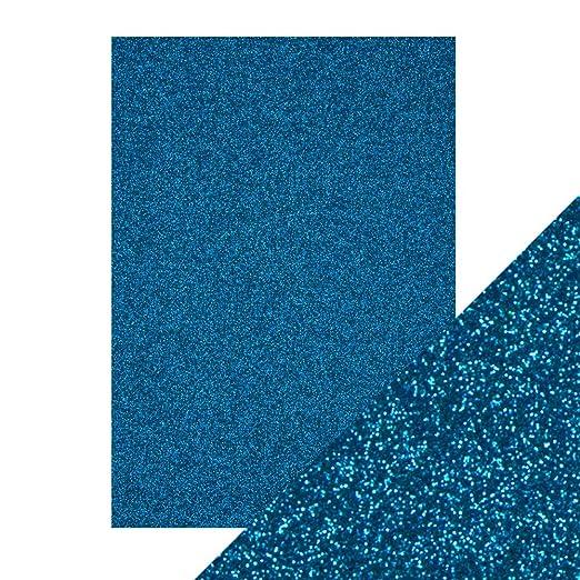 Tarjeta de cart/ón con Purpurina Tonic Studios tama/ño A4 30 x 21,5 x 0,5 cm