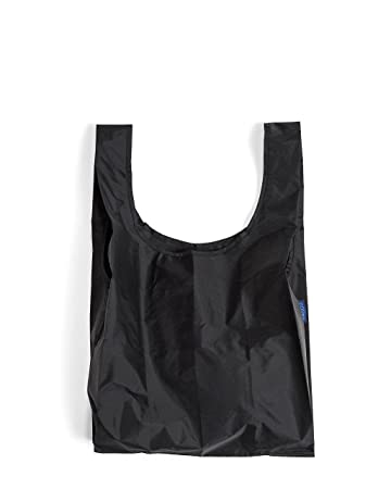 Amazon.com: BAGGU Standard Reusable Shopping Bag - Black: Grocery ...