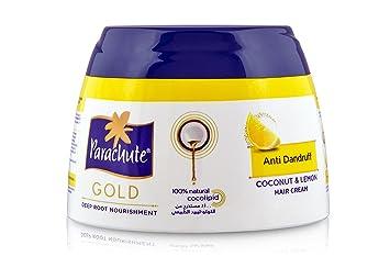 5daa26dace8d Amazon.com  Parachute Gold Hair Cream Anti Dandruff - 4.7 fl.oz ...