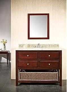 Amazon Com Ari Kitchen And Bath Akb Cape 42 Wh Cape Cod Vanity Set