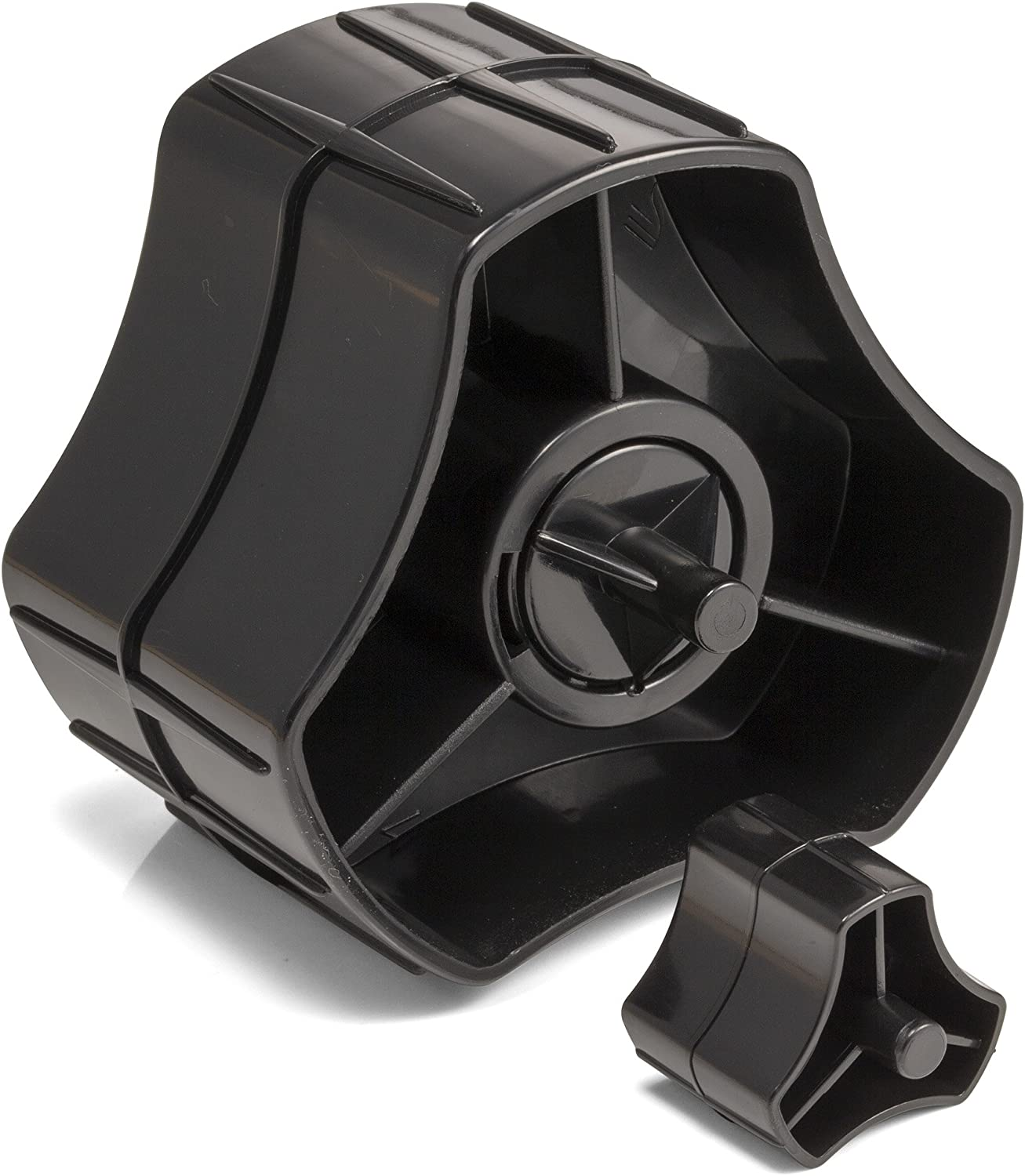 """Officemate Recycled 2-in-1 Heavy Duty Tape Dispenser, 1"""" and 3"""" Cores, Black (96690) : Packing Tape Dispensers : Office Products"""