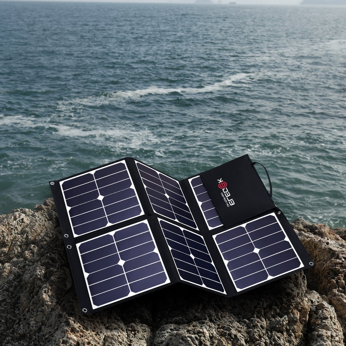 Note 8 in Camping Hiking Travel iPhone 8 /& 8 Plus Dual USB Ports ELE-H22E Galaxy S9 ELEGEEK 22W Foldable Solar Panel Phone Charger for iPhone X iPad